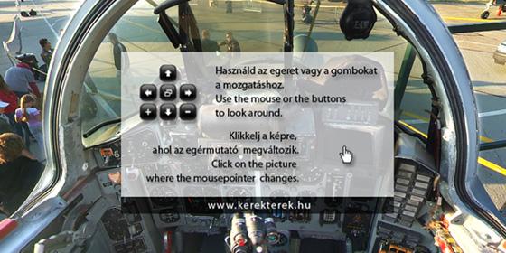 PanoBlog » Blog Archive » MIG-29 Cockpit megint: